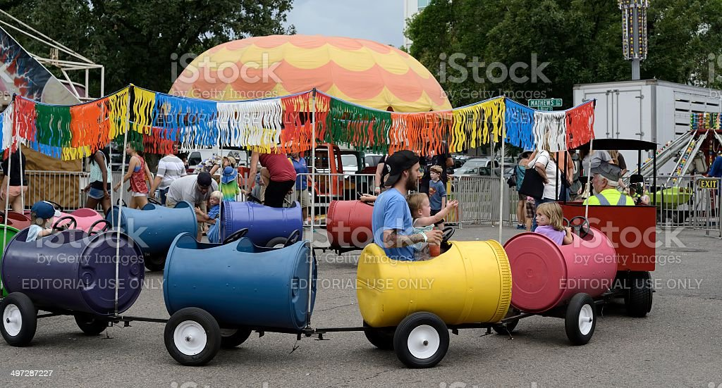 New West Fest 2013, Fort Collins stock photo