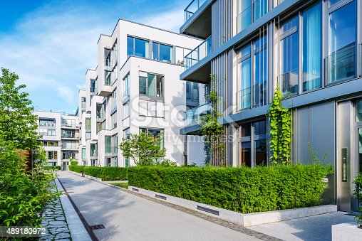 istock New white apartment houses 489180972
