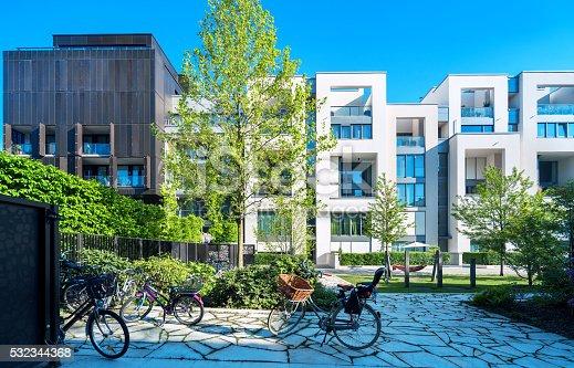 istock New white apartment houses 532344368