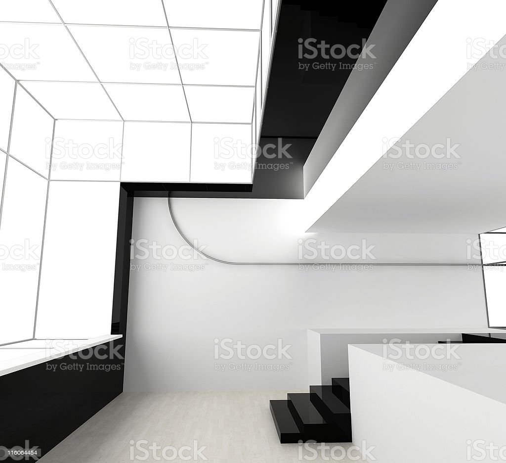 New white office royalty-free stock photo