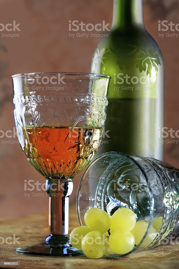 new wine, Beaujolais nouveau royalty-free stock photo