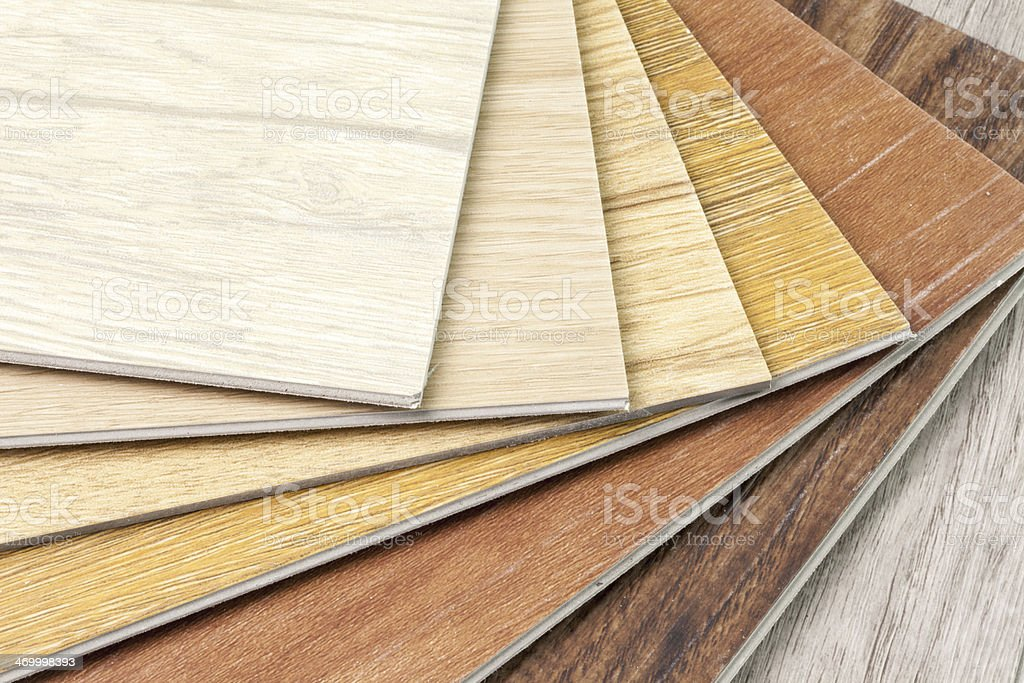 New Wood floor sample stock photo
