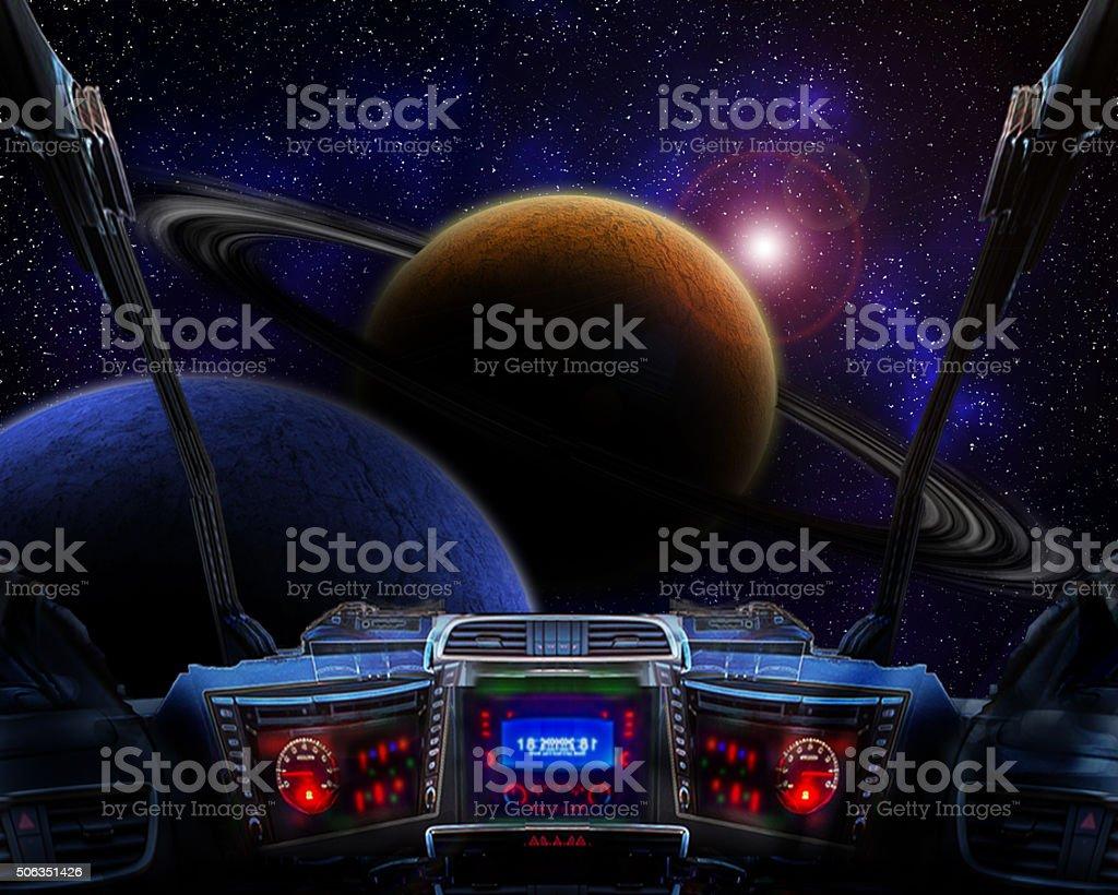 New worlds stock photo