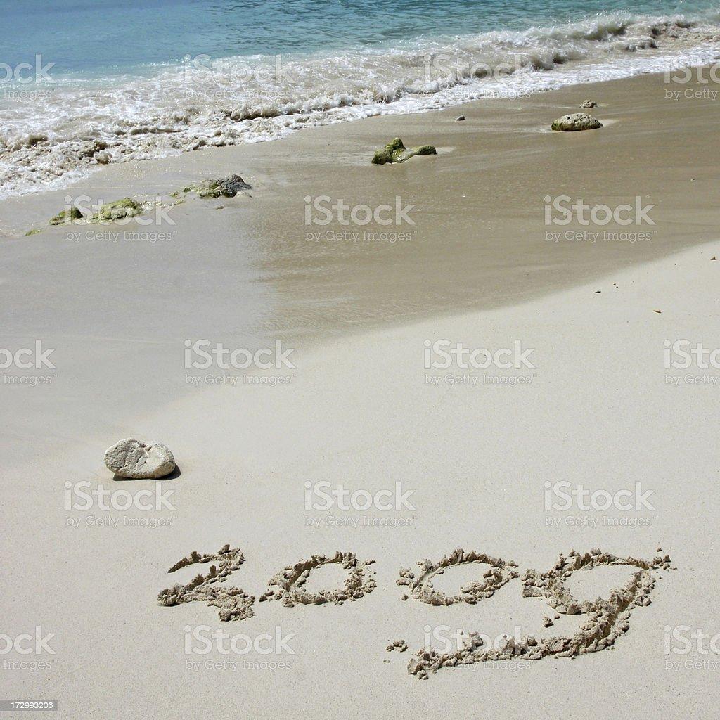 New year 2009 # 6 royalty-free stock photo