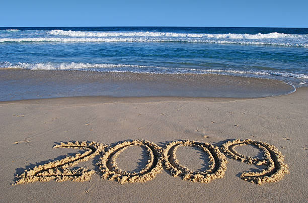 new year 2009 - 2000 2009 stock pictures, royalty-free photos & images
