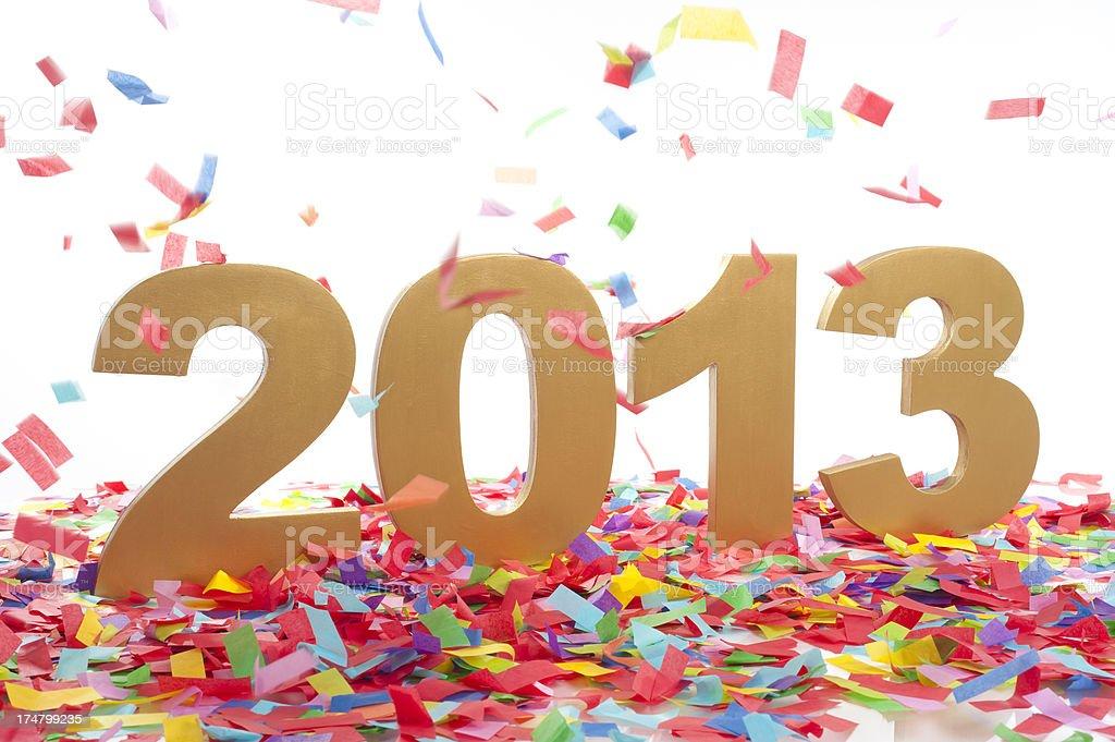 New Year 2013 Celebration stock photo