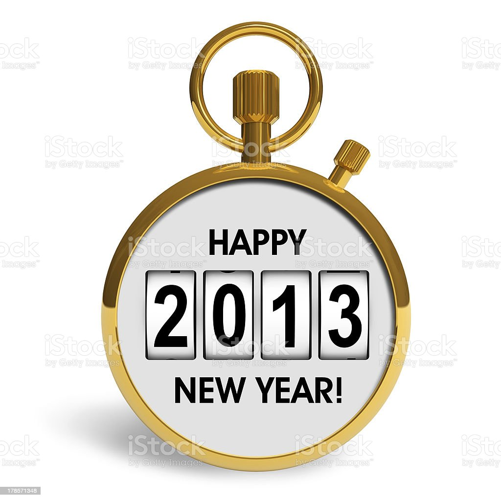 New Year 2013 concept royalty-free stock photo