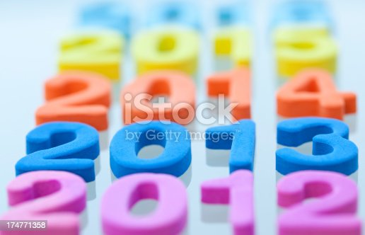 513446189istockphoto New Year 2013 is coming. 174771358