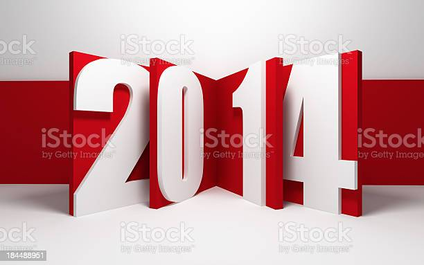 New Year 2014 Stock Photo - Download Image Now