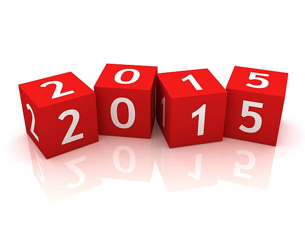 nouvelle année 2015 - 2015 photos et images de collection