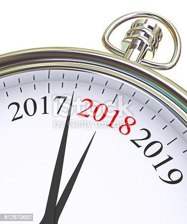 istock New Year 2018 concept 812970632