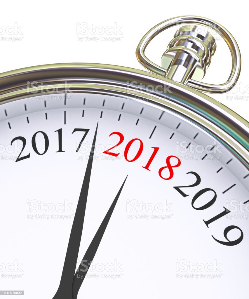 Neue Jahr 2018 Konzept – Foto