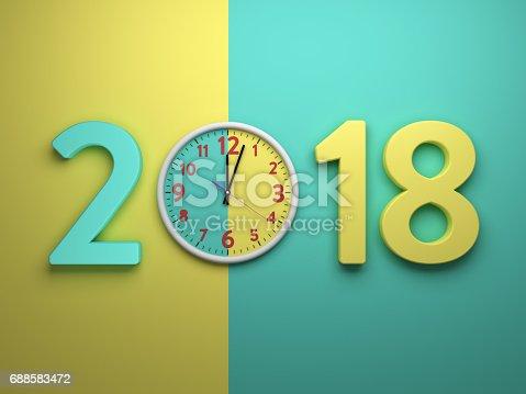 istock New Year 2018 688583472