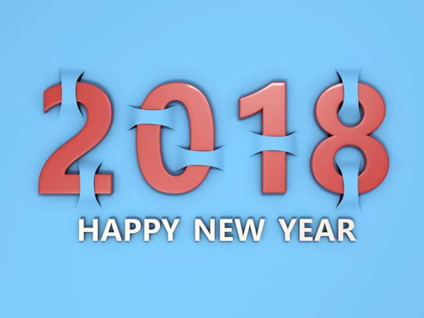 neue jahr 2018 - zukunftswünsche stock-fotos und bilder