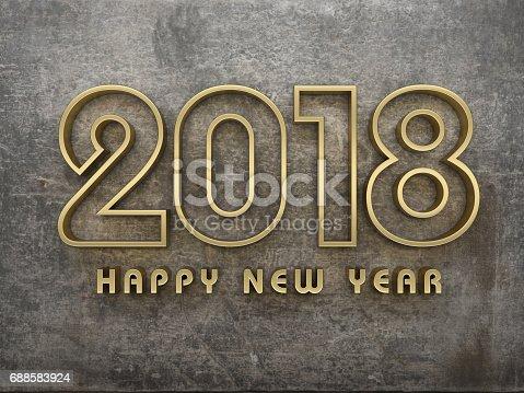 istock New Year 2018 688583924