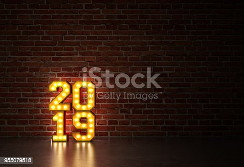 istock New Year 2019 - 3D Rendered Image 955079518