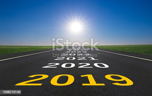 istock New year 2019 ahead 1056210140