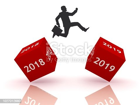 istock New year 2019 business start 1027012660