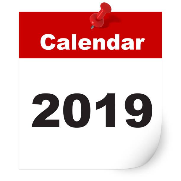 Neue Jahr 2019 Kalender – Foto