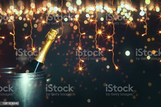 New year 2019 celebration concept bottle of champagne on a background picture id1081926340?b=1&k=6&m=1081926340&s=612x612&h=zjbwwvxvs980xvnbhiazpsjai59s uen9s2jexkgw84=