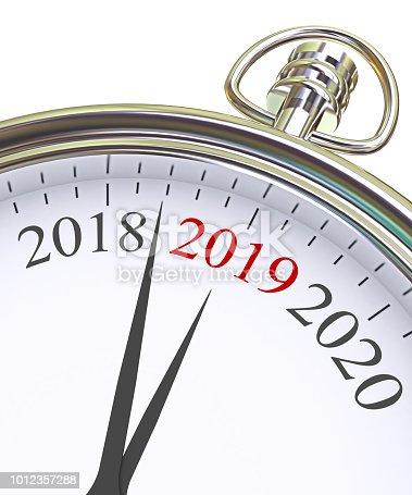 istock New Year 2019 Concept 1012357288
