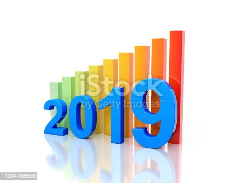 1004788900 istock photo New Year 2019 Creative Design Concept 1004788858