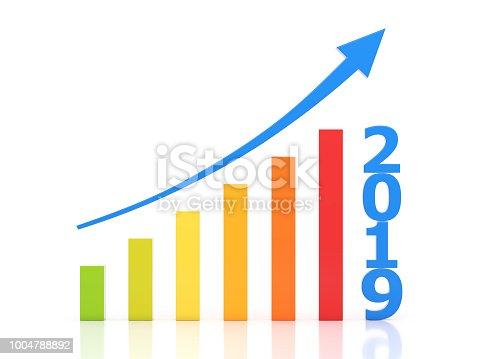 1004788900 istock photo New Year 2019 Creative Design Concept 1004788892