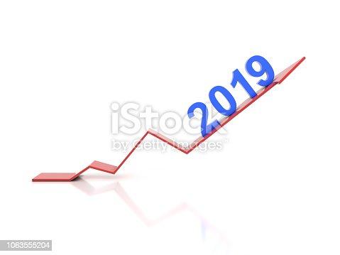 1004788900istockphoto New Year 2019 Creative Design Concept 1063555204