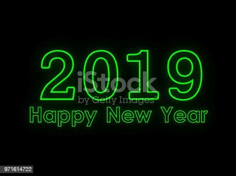istock New Year 2019 Creative Design Concept 971614722