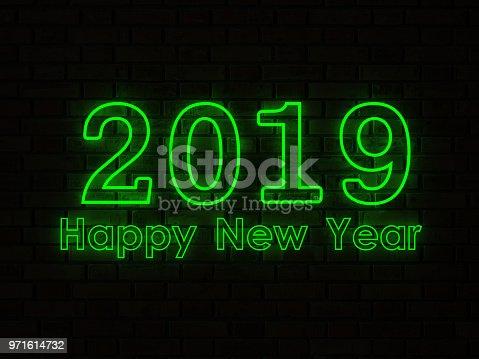 istock New Year 2019 Creative Design Concept 971614732