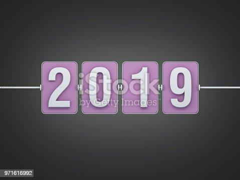 istock New Year 2019 Creative Design Concept 971616992