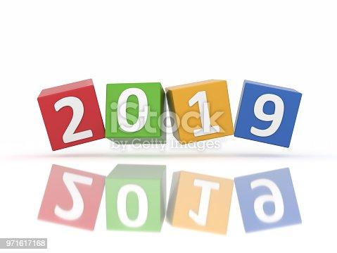 istock New Year 2019 Creative Design Concept 971617168