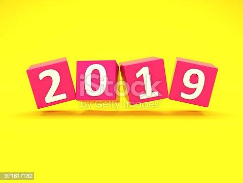 istock New Year 2019 Creative Design Concept 971617182