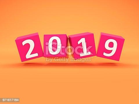 istock New Year 2019 Creative Design Concept 971617184