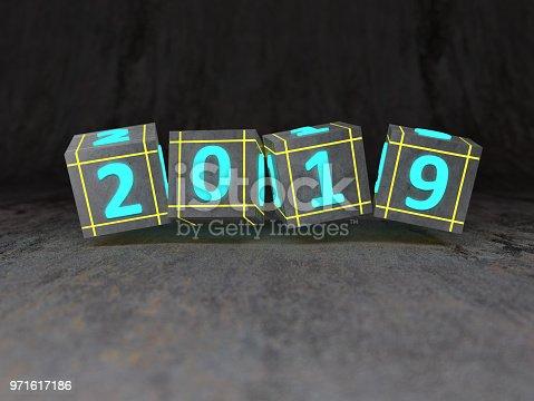 istock New Year 2019 Creative Design Concept 971617186