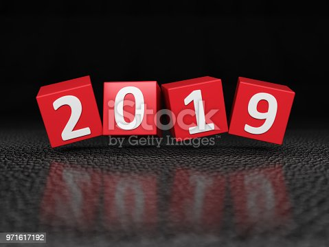 istock New Year 2019 Creative Design Concept 971617192