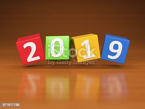istock New Year 2019 Creative Design Concept 971617196