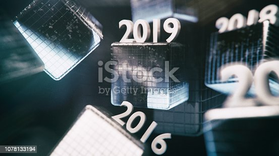 1063751940istockphoto New Year 2019 Date flowing numbers 1078133194