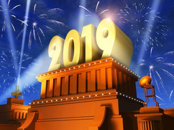 新年2019節日慶祝概念 - 挑染 個照片及圖片檔