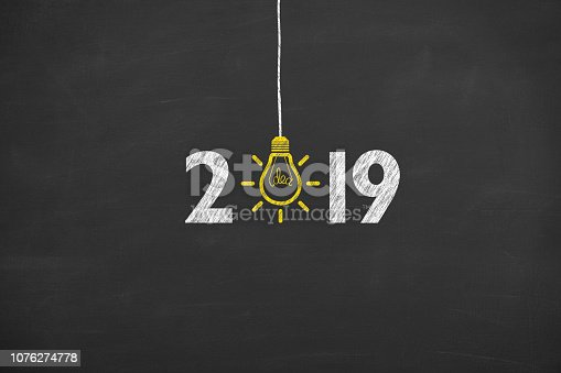 1069595584 istock photo New Year 2019 Idea Concepts on Chalkboard 1076274778