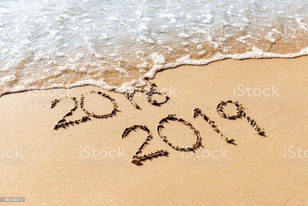 New Year 2019 stock photo