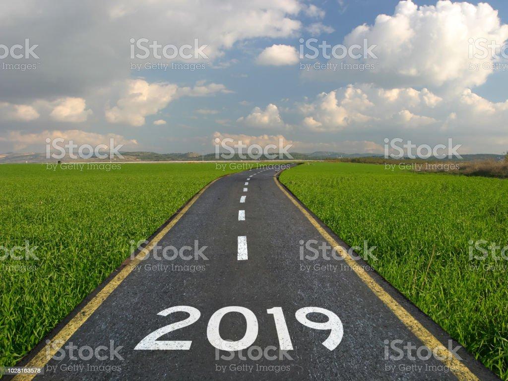 Neue Jahr 2019 Straße start – Foto