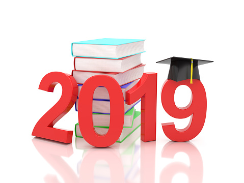 istock New Year 2019 with Books 1063553900