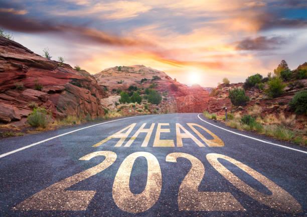 Neues Jahr 2020 vor – Foto