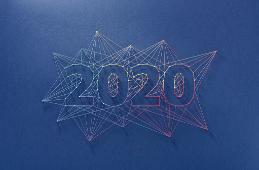 istock New Year 2020 - Building the future together, as a team. 1165856845