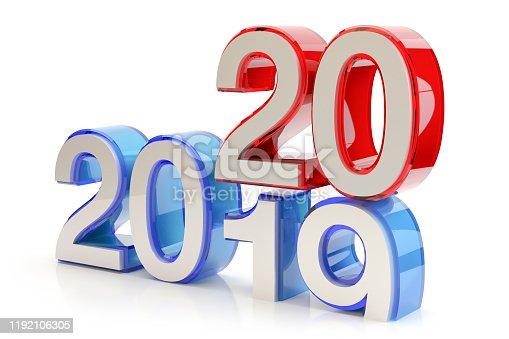 1078018146 istock photo New Year 2020 concept 1192106305