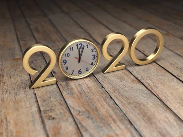 nouvel an 2020 creative design concept - 2020 photos et images de collection
