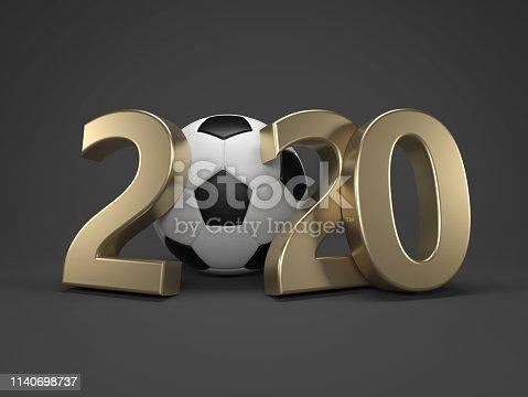 istock New Year 2020 Creative Design Concept 1140698737