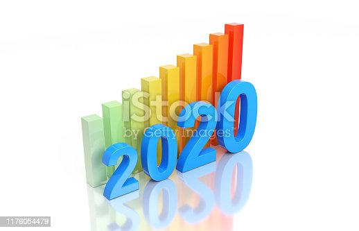 1004788900istockphoto New Year 2020 Creative Design Concept 1176054479