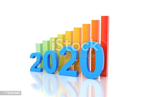 1004788900istockphoto New Year 2020 Creative Design Concept 1176054562